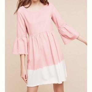 ANTHROPOLOGIE Holding Horses Ombre Lilibet Dress